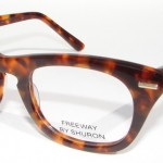 shuron freeway eyeglasses demi amber